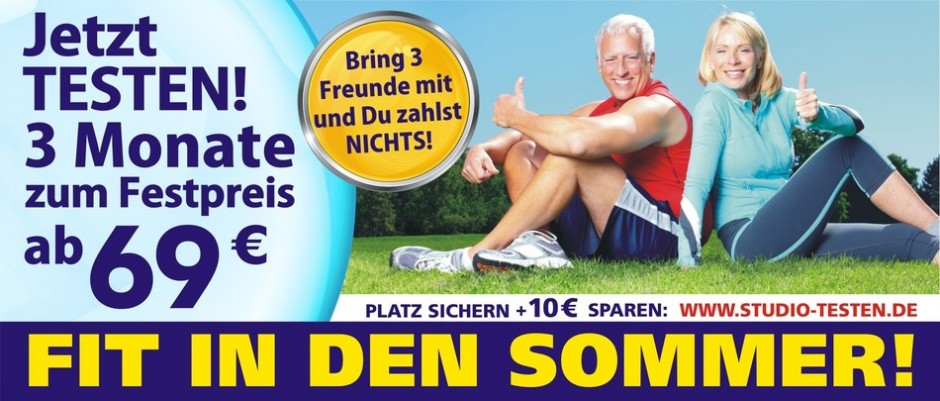 Sommeraktion Fitnessstudio Bad Grönenbach